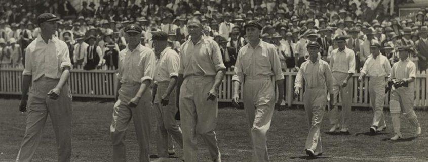 Truii data visualization, analysis and management Australian test cricket team in Brisbane 1928 crop