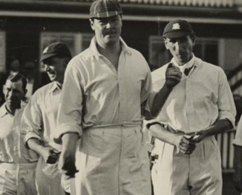Truii data visualization, analysis and management English cricket team at the test match held in Brisbane 1928 crop