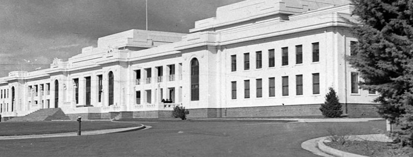 Truii data visualisation, analysis and management Old Parliament house 1927