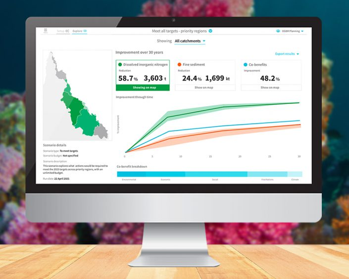 Reefonomics - Coupling economic and environmental modelling to guide investment and deliver the best water quality outcomes for the Great Barrier Reef